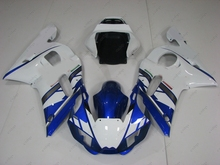 Motorcycle Fairing for YAMAHA YZFR6 2001 Fairings YZF R6 1998 1998 - 2002 Blue White for FAIT Motorcycle Fairing YZFR6 00 01