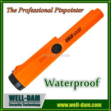 Waterproof gold detector pro-pointer at gold metal detector made in china
