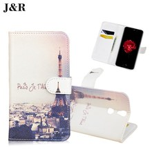 Brand J&R  Vernee Thor Case Cover Flip Luxury Leather Case Pattern Card Slot Wallet Phone Bag Case for Vernee Thor