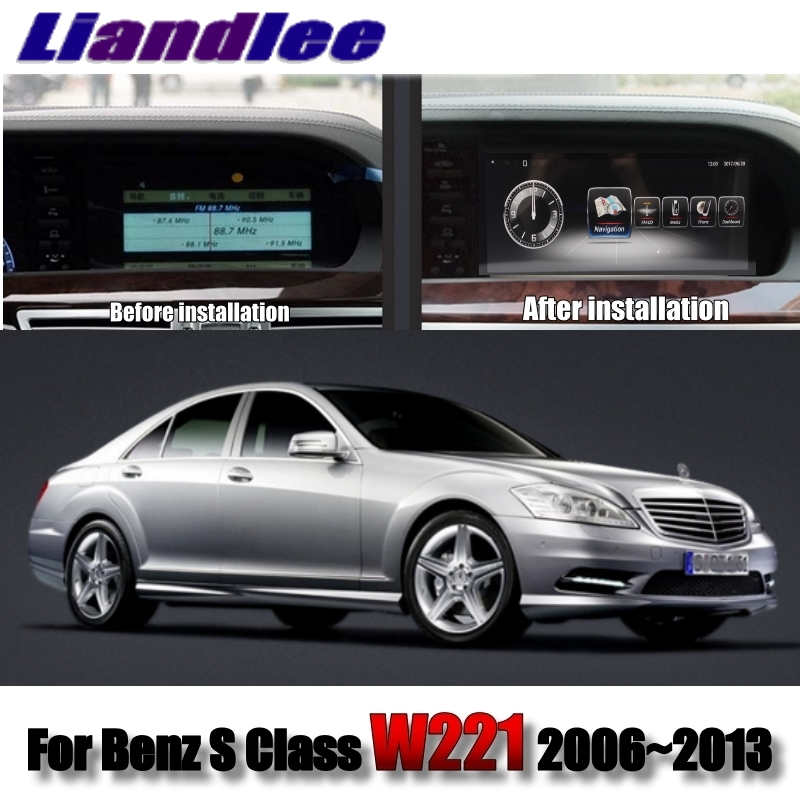 Liandlee Car Multimedia Player NAVI For Mercedes Benz S Class W221 S280 S320 S400 S600 S63 2006~2013 Radio Stereo GPS Navigation 01