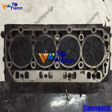 for Yanmar 4TNV106 4TNV106T Cylinder Head assy Used Original parts For Takeuchi TL150 Track Loaders 4TNV106T-XTBL engine Part
