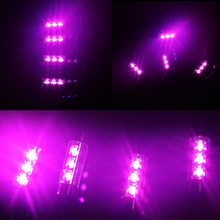 Glow Interior Decorative High Quality Atmosphere Light Car Styling 4 Colors  Car Interior Decoration Light 4 x 3LED DC 12V