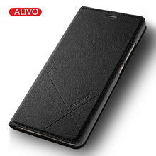 Buy ALIVO Brand Meizu M5 Note Case Leather Flip Protector Cover Meizu M5 M5s Mini Mobile Phone Cases Luxury Business Accessory for $8.98 in AliExpress store