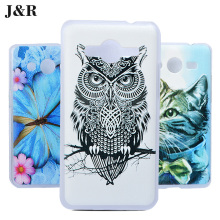 For Samsung Galaxy Core 2 Duos G355H Painetd Case PC Hard Cover For Samsung Galaxy Core 2 Duos G355H SM-G355H/DS 4.5inch(China)