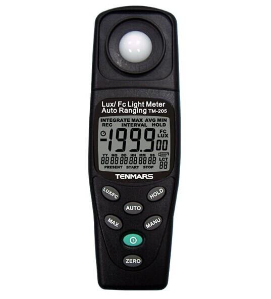 Autoranging Digital Light Meter TM-205 3 1/2digits LCD display<br><br>Aliexpress