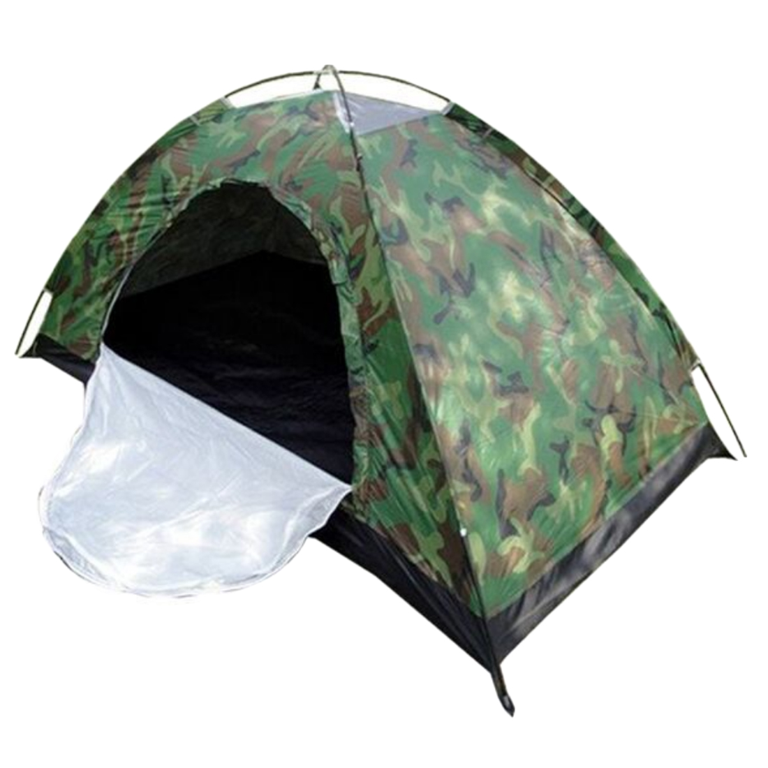 Single Person Camping Waterproof Tent Outdoor Hiking Tent Camouflage Net <br>