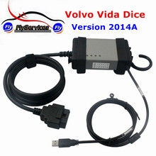 Fast Shipping For Volvo Vida Dice Supports Multi-languages For Volvo Dice Latest Version 2014A Diagnostic Tool(China)