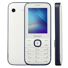 IPRO I324F Brand 2.4 Inch Celular Phone Dual Card Slot GSM Unlocked Mobile Phone With English Portuguese Spanish China Telephone(China)