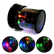 Hot Sale Romantic Home Baby Kids LED Starry Sky Stars Night lights Cosmos Master Projector Lamp Flashlight Christmas Gift