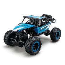 JJRC Q15 RC Car 4WD Rock Crawlers 4x4 Driving Car Double Motor Drive Bigfoot Car Remote Control Model Off-Road Toy(China)
