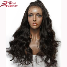 Dream Beauty 180% Density Pre Plucked Full Lace Human Hair Wigs With Baby Hair Brazilian Non-Remy hair For Black Women