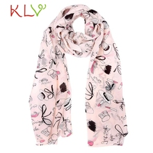 Super 2016 winter scarf Women Chiffon Wrap Lady Shawl Chiffon Scarf Scarves 150CM X 40CM #7