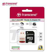 Transcend Adapter RDP3 Micro USB/USB 2.0 Memory Card Reader Micro SD Card Reader TransFlash TF Memory Card Adaptor