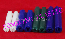 50pcs staright expand nail opp bag package (wall plug)8*38 other color can be ordered M8 Length 38(China)