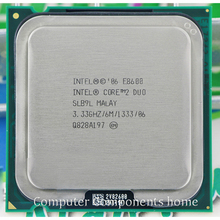 Original intel core 2 duo E8600 Processor INTEL E8600 CPU (3.33Ghz/ 6M /1333GHz) Socket 775 suitable with G31 G41 motherboard(China)