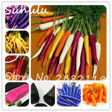 200 Particles Blue Yellow Radish Seeds organic delicious Carrot Loseweight Health Fruit And Vegetable Seeds Diy Home Garden Plan