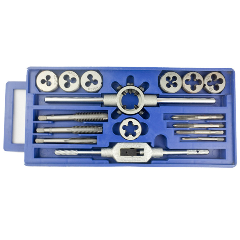 Alloy Steel 16Pcs/Set Tap and Die Set Screw Tap Hand Tap Threading Machine<br><br>Aliexpress