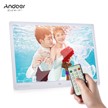 "Andoer 13"" LED Digital Photo Frame Screen 1080P MP4 Video MP3 Audio TXT eBook Clock  Calendar 1280 * 800 HD w/Remote Control"