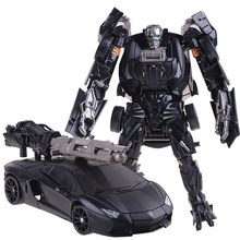 Cool Plastic ABS + Alloy Transformation Robot Car Toys Anime Brinquedos Movie 4 Action Figures Classic Model Toys Boys Gifts