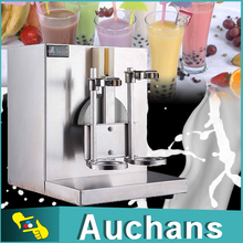 220V 120W Double-Cup Auto Bubble Boba Milk Tea Shaker Shaking Machine(China)