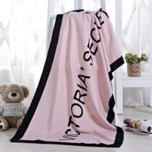 Summer Brand VS Secret Bath Towel Beach Towel Pink Micro Fibre Fleece Blanket Small Victoria Drying Washcloth Swimwear Shower