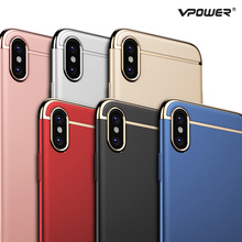 Buy iPhone X Case Ultra Slim Vpower Luxury 3 1 PC Hard Full Protection Phone Back Capa Apple iPhone X Cases Cover for $6.74 in AliExpress store