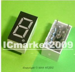 100 PCS LD-3161AG 1 Digit 0.36 GREEN 7 SEGMENT LED DISPLAY COMMON CATHODE<br><br>Aliexpress