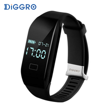 Diggro H3 Smart Bracelet Heart Rate Monitor Wristband Bluetooth Pedometer Sport Fitness Tracker Smart Band for Android IOS Phone(China)
