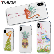Buy Cartoon Flamingo Phone Case iphone 8 7 X Case Ultra thin Soft TPU Cases Fashion Back Cover iphone 6 6S 7 8 Plus X P20 for $1.07 in AliExpress store