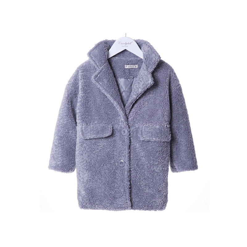 New arrival Childrens Coat Jacket Winter Long Thickening Girl Coat Plush coat  Faux Fur Coat 5-10Y<br><br>Aliexpress