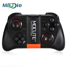 Mlldio Gamepad Wireless Bluetooth 3.0 Game Controller Joystick for Iphone and Android Phone Tablet PC Laptop and VR 3D Glasses(China)