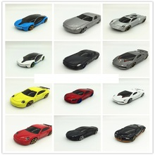 1:64 Alloy car model combination a variety of models free choice sports car family car children car model