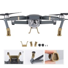 DJI Mavic Pro Landing Gear Leg Height Extender Kit Riser Set Stabilizers with Protection Pad