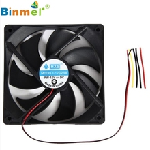 2017 New 120mm 120x25mm 12V 4Pin DC Brushless PC Computer Case Cooling Fan 1800PRM JUN8
