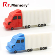 usb 64gb pendrive 8g flash drive 16g 32g usb flash 2 colors truck model flash card USB2.0 usb stick personalized children gift