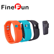 FineFun Waterproof Fitness Activity Tracker Wristband Rubber Band for TW64 Smartband Bracelet Accessories Replace Strap(China)