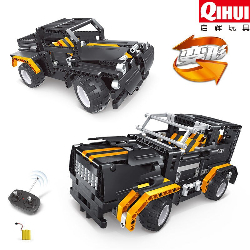 rc car toys building block vehicle rc car assembling electric toys remote control educational kid toy