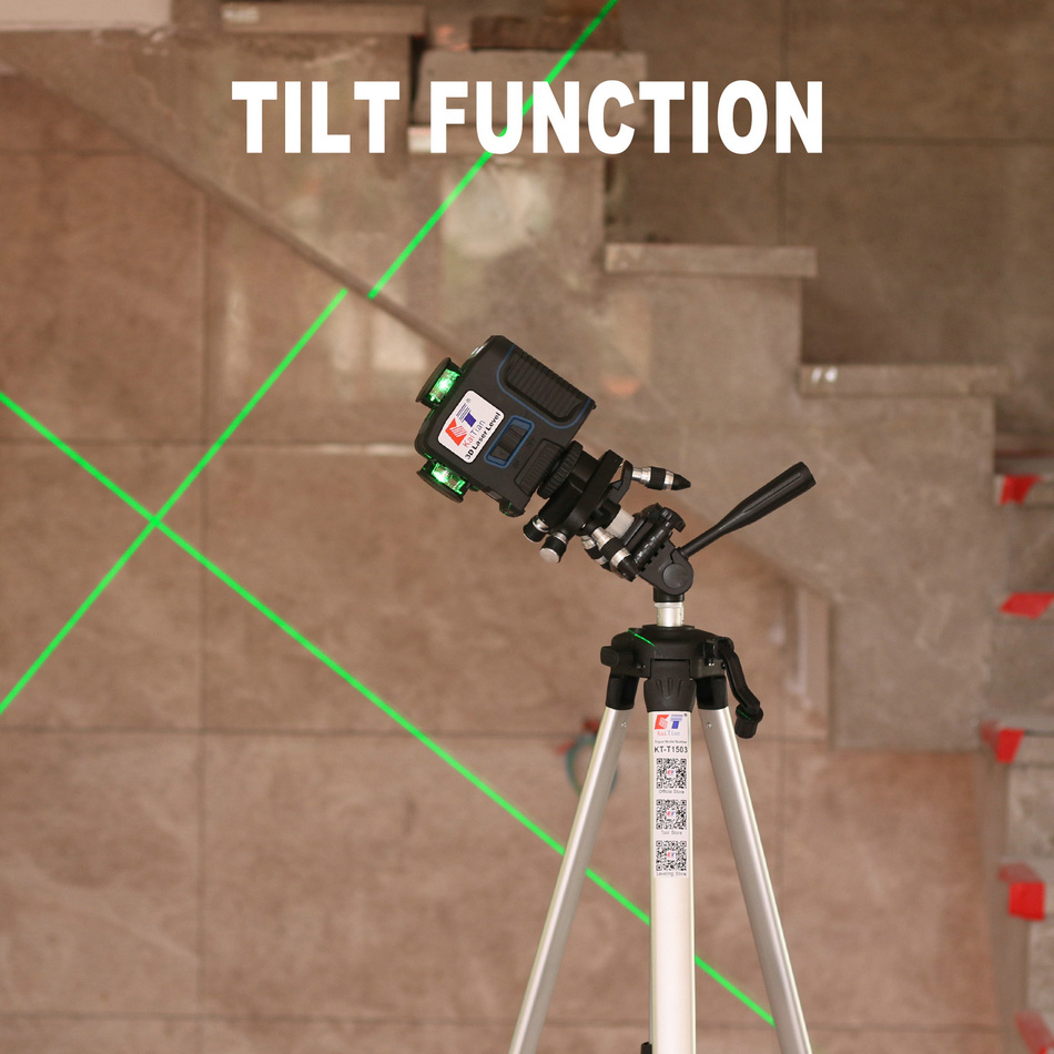 KaiTian Laser Level 360 Green Line 3