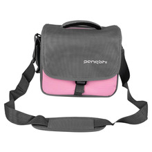 Camera Bag Case for Canon Nikon Sony DSLR Camera Pink pangshi