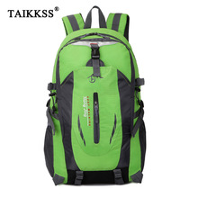 2017 Fashion school bag Waterproof Nylon men Backpack Bag women mochila Escolar Travel Bag Rucksack trekking bag Large Capacity(China)
