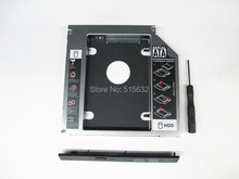 New 12.7mm 2nd HDD SSD Hard Drive Disk Caddy Adapter Bay Slot for HP Probook 4530s SATA