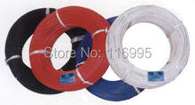 Free shipping 1roll(590meters) 26/28/30AWG UL1007 UL certification / AWM  / red electronic cable / wire / cable