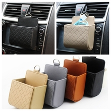 Car Holder Nets Air Vent Mobile Phone Pocket Vehicle Glove Bag Car Sundries Bags for iPhone Samsung xiaomi redmi note 2 lenovo