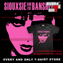 Siouxsie and the Banshees Alternative rock Band 100% cotton Short-sleeve Post Punk T-shirt Tee T