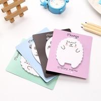Kawaii Moongs Memo Pad Paper Sticker Cute Panda Post It Note Sticky Note Office Stationery School Supplies