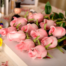 5pcs High-end imported PU simulation flowers roses single roses artificial flowers decorate home minimalist furnishings