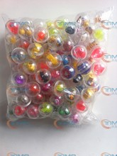 100 pcs/ bag The capsules ball with the toys 32mm capsules cover with mixed style beautiful toys for Toy Vending Vending Machine(China)