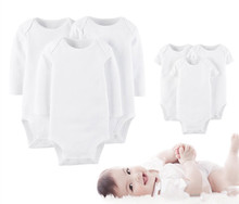 1pcs retail newborn bodysuit baby newborn clothes baby brand original baby cotton jumpsuit boys& girls ctll0003
