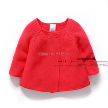 new 2015 spring and autumn girls Knitwear children's clothing baby cotton sweater cardigan kids knitting shirt girls jacket coat