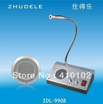 110V / 220V English Version Window Intercom Kit Dual-way Intercom System For Counter<br><br>Aliexpress